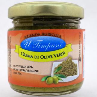 groene olijven tapenade - crema di olive verdi